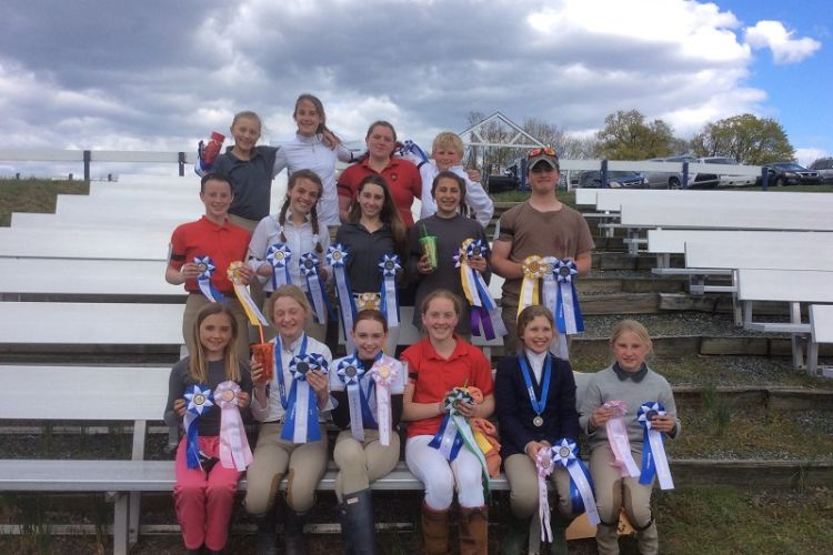 2015 Dressage Rally participants